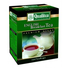 QUALITEA ENGLISH BREAKFAST TEA 100 SACHETS