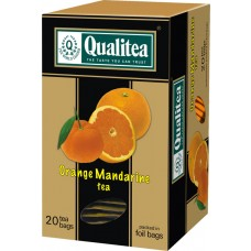 QUALITEA ORANGE - MANDARIN TEA  20 SACHETS